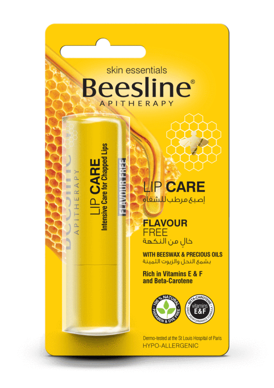 BEESLINE LIP CARE FLAVOUR FREE 4GM