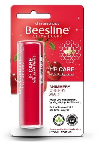 BEESLINE LIP CARE SHIMMERY CHERRY 4GM
