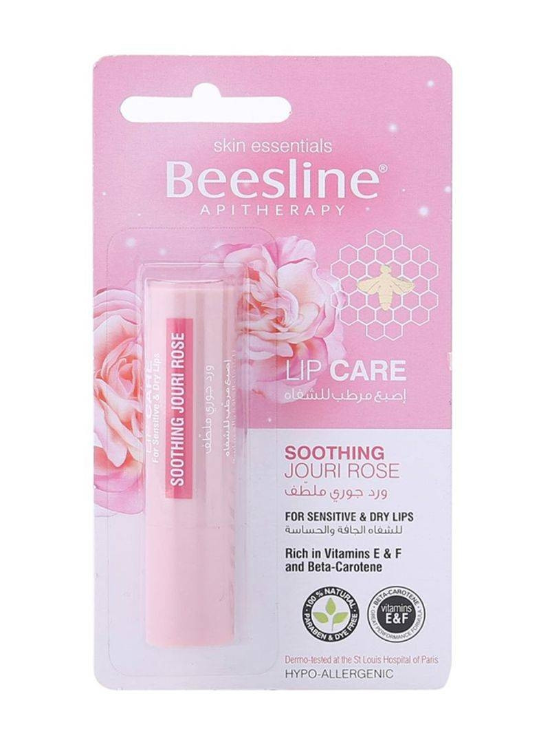 BEESLINE LIP CARE SOOTHING JOURI ROSE 4GM