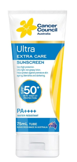CANCER COUNCIL ULTRA SPF50 75ML