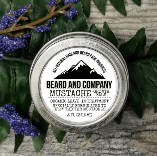BEARD AND COMPANY MUSTACHE GROWTH BALM 15ML