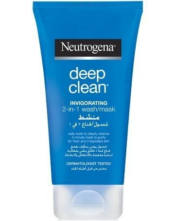 NEUTROGENA DEEP CLEAN 2IN1 INVIG. WASH MASK 150ML