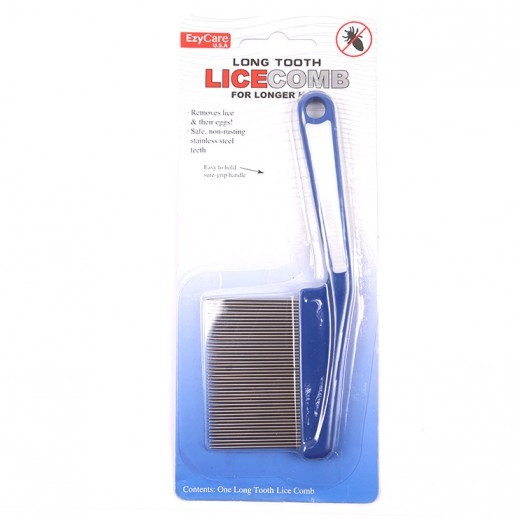 EZY CARE LONG TOOTH LICE COMB