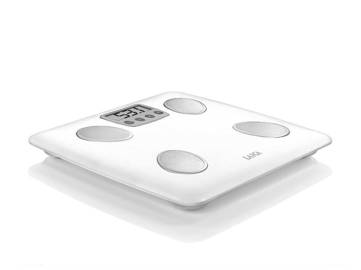 LAICA PERSONAL SCALE BODY FAT & WATER PS4007