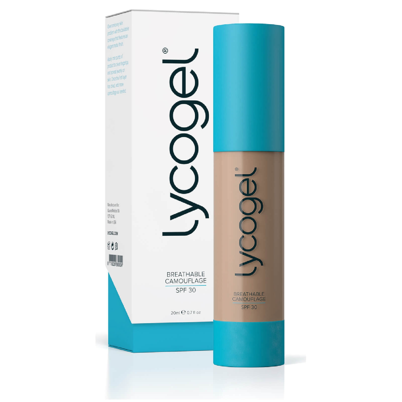 LYCOGEL BREATHABLE CAMOUFLAGE SAND 20 ML