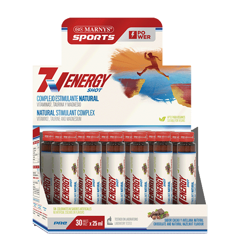MARNYS SPORTS 7 VITAMINS ENERGY SHOT  25ML
