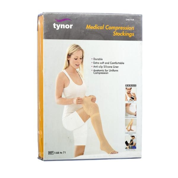 TYNOR MEDICAL COMPRESSION STOCKINGS
