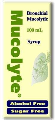 MUCOLYTE SYRUP 100 ML
