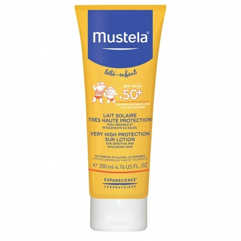 MUSTELA SUN PROTECTION SPF50+ SUN LOTION 200ML