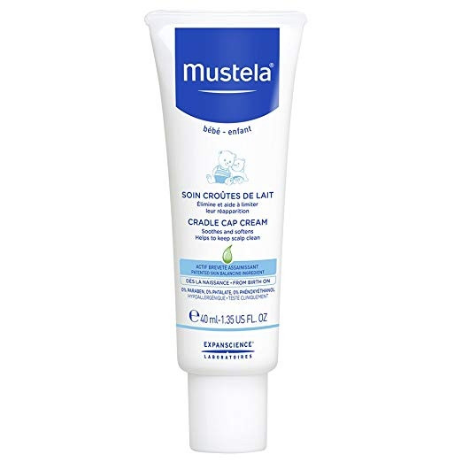 MUSTELA BEBE-ENFANT CRADLE CAP CREAM 40ML