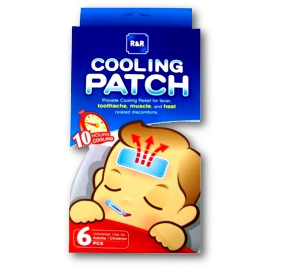 R&R MOBE CARE COOLING PATCH SC-1007
