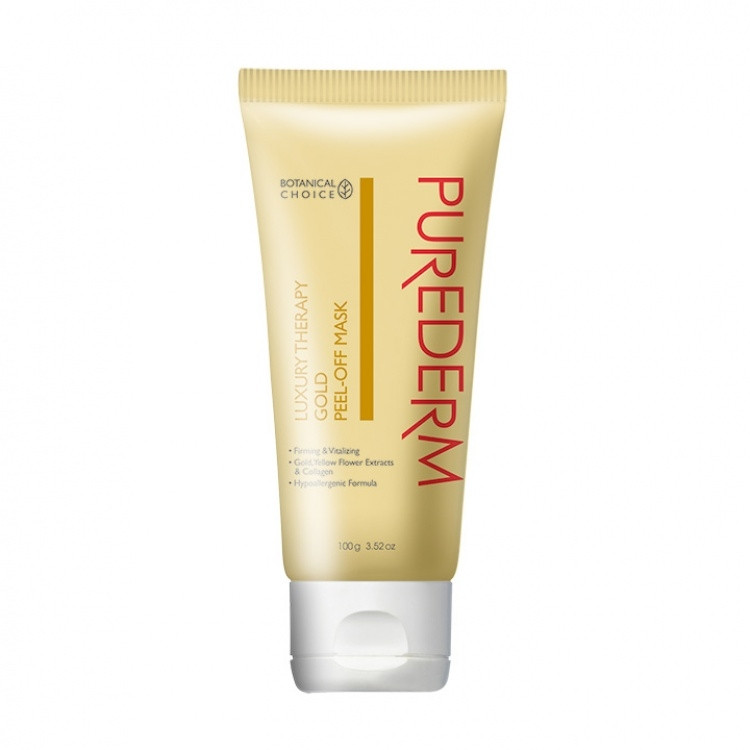 PUREDERM GOLD PEEL-OFF MASK 100G