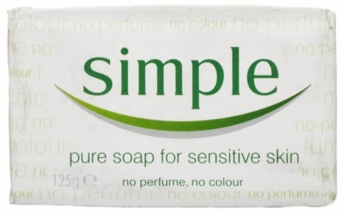 SIMPLE PURE SOAP 125G