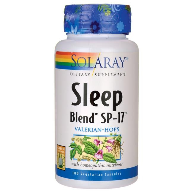 SOLARAY SLEEP BLEND SP-17 100CAP