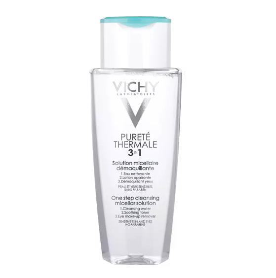 VICHY ONE STEP CLEANSING MICELLAR SOLUTION 200ML