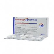 GLUCOPHAGE XR 1000 MG 30 TABLETS