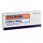 TENORMIN 50MG 28 TABLET