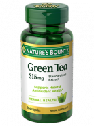 NATURE'S BOUNTY GREEN TEA 315GM 100CAP
