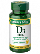 NATURE'S BOUNTY D3 1000 IU 120 SOFT GELS