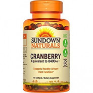 SUNDOWN CRANBERRY 8400MG 150SOFTGELS