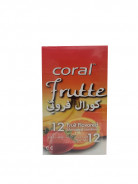 CORAL LATEX CONDOM FRUTTE (12PCS.)