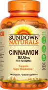 SUNDOWN CINNAMON 1000MG 200 CAP