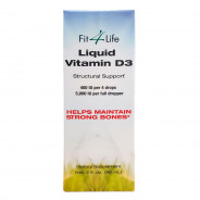 FIT 4 LIFE VITAMIN D3 LIQUID