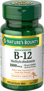 NATURE'S BOUNTY B-12 1000MCG 60TAB