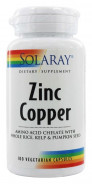 SOLARAY ZINC COPPER 100CAP