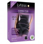 LYTESS CORRECTING SHORTY BELT BLACK -XXL