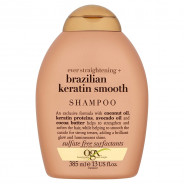 OGX BRAZILIAN KERATIN SMOOTH SHAMPOO 385ML