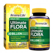 RENEW LIFE ADULT 50+ ULTIMATE FLORA 30 BILLION PROBIOTIC 30 CAPSULES