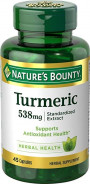 NATURE'S BOUNTY TURMERIC 538MG 45CAP