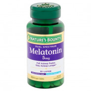 NATURE'S BOUNTY MELATONIN 5MG 60TAB