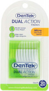 DENTEK DUAL ACTION CLEANERS 20PCS