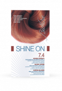 SHINE ON HAIR COLOR COPPER BLONDE NO.7.4
