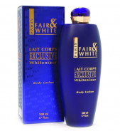 F&W FAIR AND WHITE  WHITENIZER BODY LOTION 500ML