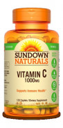 SUNDOWN VITAMIN C 1000MG 133CAP