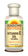 SUNDOWN VIT E OIL 70.000 75ML