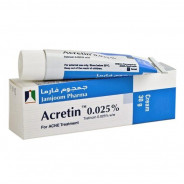 ACRETIN CREAM 0.025% 30GM