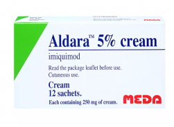 ALDARA CREAM 5% 250MG 12 SCH