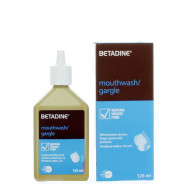 BETADINE GARGLE & M. WASH 125 ML