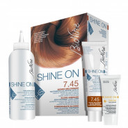 SHINE ON HAIR COLOR POMEGRANATE BLONDE NO.7.45