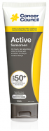CANCER COUNCIL SPF50+ ACTIVE 110ML TUBE