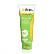 CANCER COUNCIL SPF50+ SENSITIVE 110ML TUBE