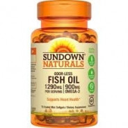SUNDOWN FISH OIL 1290MG-900MG OMEGA 72CAP