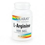 SOLARAY L-ARGININE 500MG 100CAP