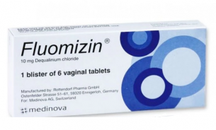FLUOMIZIN VAGINAL TABLETS 6 TABS