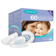 LANSINOH DISPOSABLE NURSING PADS 60PCS