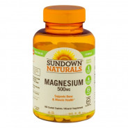 SUNDOWN MAGNESIUM 500MG 180 CAP